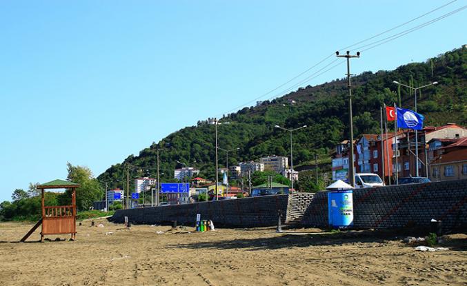 Mavi Bayraklı plaja yeni düzenleme