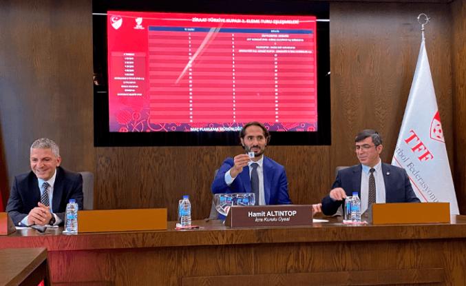 Ziraat Türkiye Kupası'nda tur eşleşmeleri yapıldı
