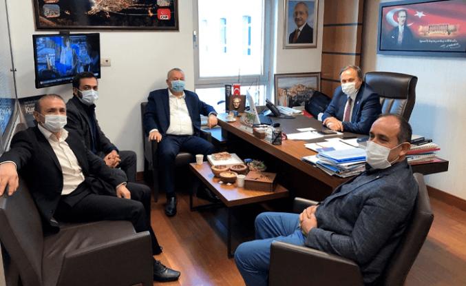 Cemal Enginyurt'tan CHP'li Torun'a sürpriz ziyaret