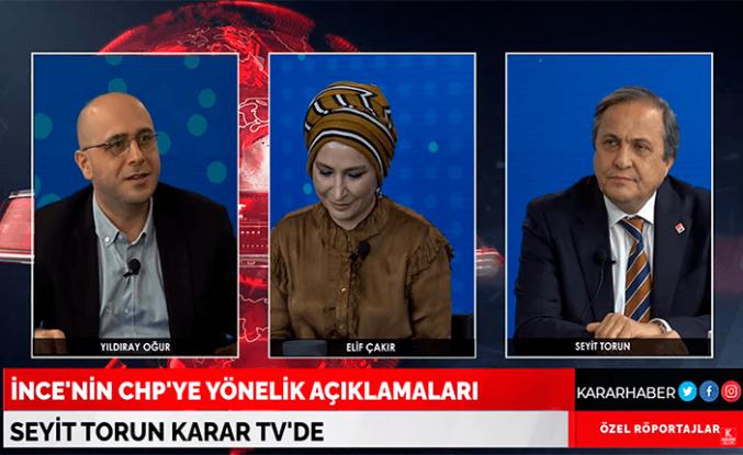"CHP'li Torun: ""Bir yere varamaz"""