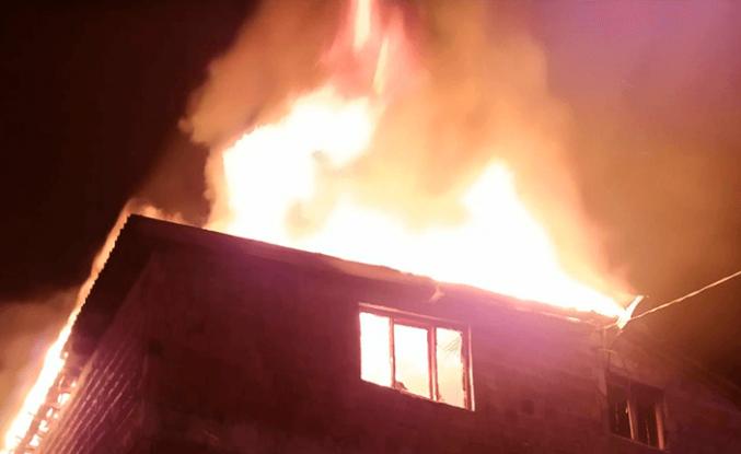 Ünye'deki yangın ucuz atlatıldı