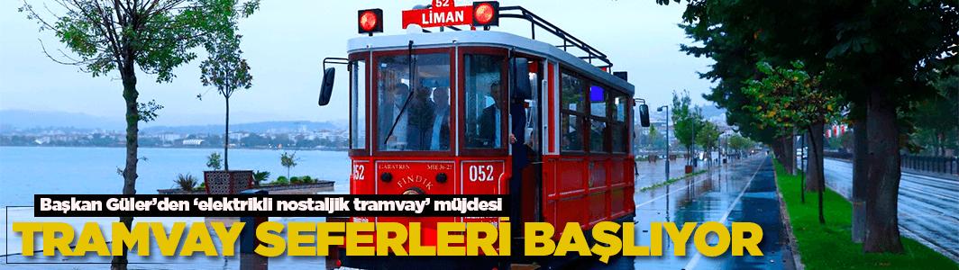 Artık Ordu'da da nostalji tramvay seferleri başladı