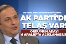 """Seyit Torun: """"AK Parti'de telaş var!"""""""