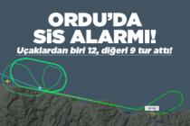 Ordu-Giresun Havalimanı'nda sis alarmı!