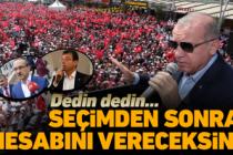 Erdoğan'dan İmamoğlu'na 'yalancı' tepkisi!