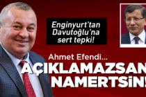 Enginyurt'tan Davutoğlu'na sert tepki!