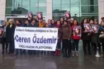 Türkiye Ceren Özdemir için ayakta