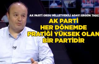 AK Parti pratiği yüksel olan bir parti