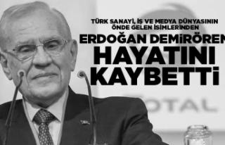 Erdoğan Demirören 80 yaşında vefat etti