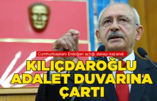 Kılıçdaroğlu, yine adalet duvarına çaprtı