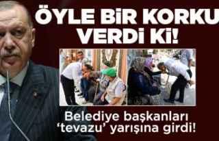 'Erdoğan korkusu' tevazu yarışı başlattı