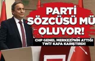 CHP'nin, Torun ile ilgili attığı twit kafa...