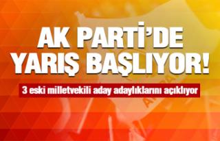 AK Parti'de seçim yarışı başlıyor!