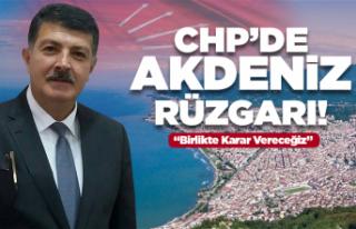 CHP'de Hüseyin Akdeniz rüzgarı!