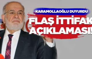 Karamollaoğlu'dan 'ittifak' açıklaması!