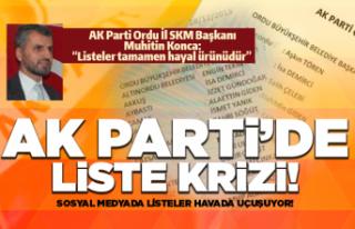 AK Parti liste krizi!