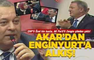 Bakan Akar'dan Enginyurt'a alkış!