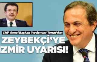 Torun'dan Zeybekçi'ye İzmir uyarısı!