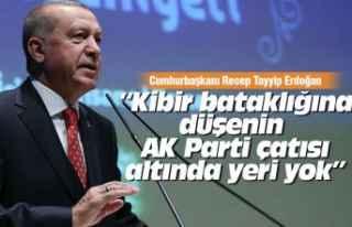 Erdoğan'dan partililere 'kibir' uyarısı!