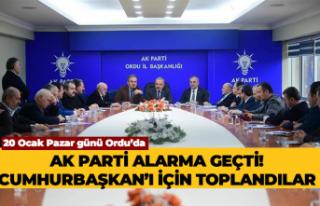 AK Parti'de Cumhurbaşkanı alarmı!
