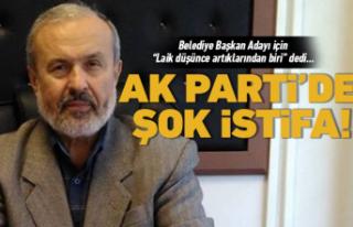 AK Parti'de şok istifa!