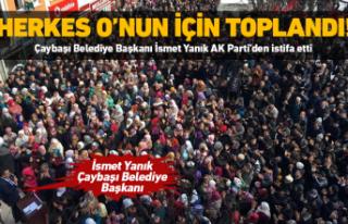 Başkan Yanık AK Parti'den istifa etti!