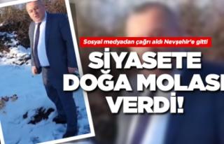MHP'li Cemal Enginyurt'tan siyasete doğa...
