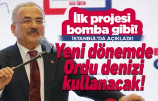 Hilmi Güler ilk bomba projesini açıkladı!