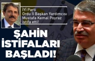İYİ Parti'de 'Şahin' istifaları...