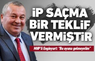 MHP'li Enginyurt'tan 'Andımız'...