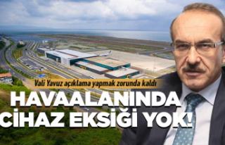 Ordu-Giresun Havalimanı'nda cihaz eksiği yok!