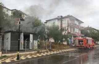 Bartın'da bir trafoda çıkan yangın söndürüldü