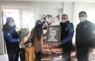 Samsun'da şehit polis Atakan Arslan'ın...