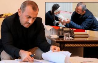 Duygu dolu mektuba Vali Sonel'den 'Şahane'...