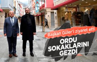 Bakan Kasapoğlu Başkan Güler'i ziyaret etti
