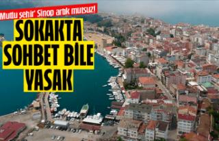 Mutlu şehir Sinop da artık mutsuz!