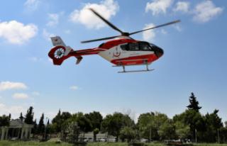 Hava Ambulansı iki kat fazla havalandı