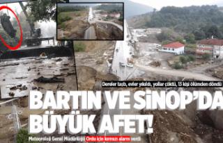Ordu'ya uyarı! Bartın ve Sinop'ta büyük...