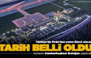 Rize-Artvin Havalimanı yıl sonunda açılacak