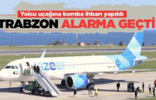 Kuveyt uçağına Trabzon'da bomba ihbarı