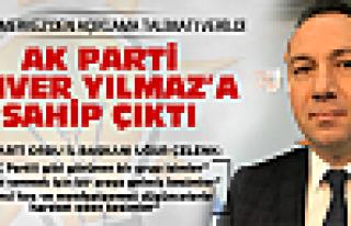 AK Parti Enver Yılmaz'a sahip çıktı!