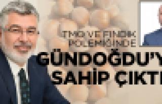AK Partili Çanak Gündoğdu'ya sahip çıktı