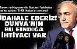 Bakan Fakıbaba Tv52'ye konuştu!