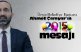 Başkan Çamyar'ın yeni yıl mesajı