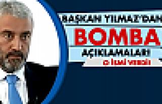 Başkan Yılmaz'dan bomba açıklamalar!