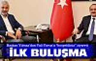 Başkan Yılmaz'dan Vali Yavuz'a ziyaret