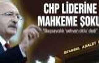 CHP Lideri'ni mahkeme şoku!