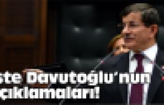 Davutoğlu, 4 eski bakanı savundu!