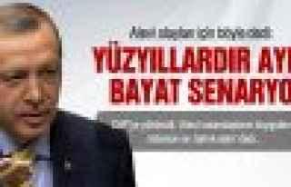 Erdoğan, Alevi olaylarında CHP'yi tahrik etmekle...