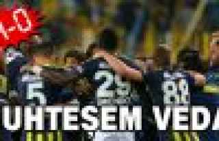 Fenerbahçe'den muhteşem veda!